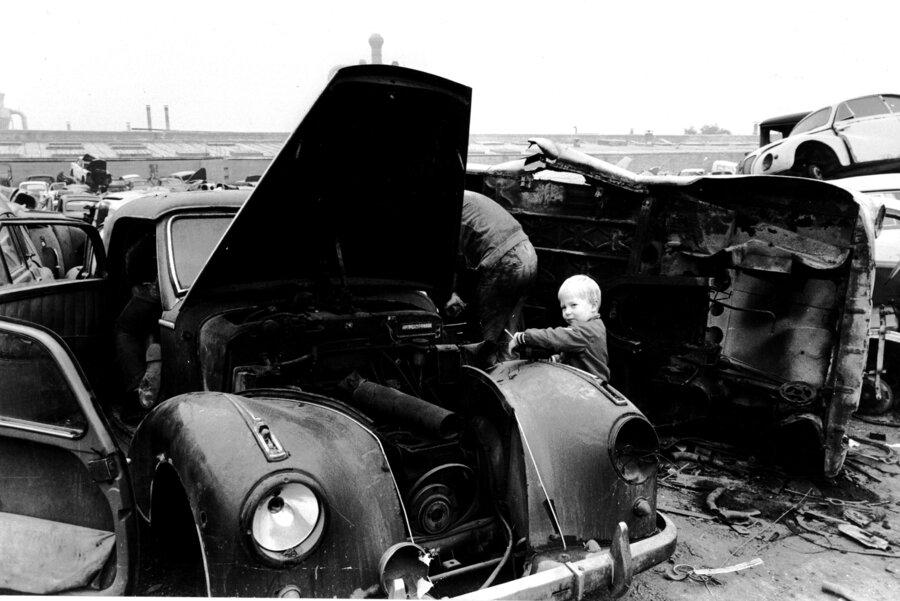 Autoverwertung Autoberg   1936